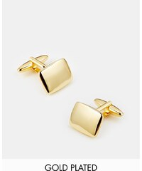 ASOS - Vergoldete Manschettenknöpfe - Gold