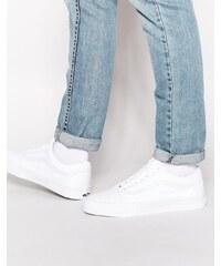 Vans - Old Skool - Baskets - Blanc