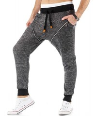 Kalhoty Lorenzo černé - černá