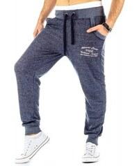 Kalhoty Luzo modré - modrá