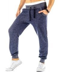 Kalhoty Montano modré - modrá