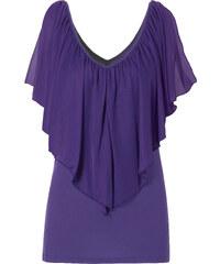 BODYFLIRT boutique T-shirt violet manches courtes femme - bonprix
