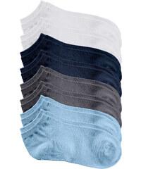 bpc bonprix collection Lot de 8 paires de socquettes blanc lingerie - bonprix