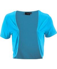 bpc bonprix collection Boléro bleu manches courtes femme - bonprix