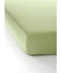 bpc living Drap-housse Jersey First Class vert maison - bonprix