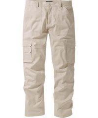 bpc selection Pantalon cargo Regular Fit Straight, N. beige homme - bonprix