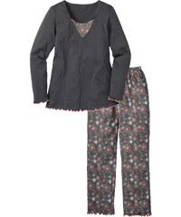 bpc selection Pyjama gris manches longues lingerie - bonprix