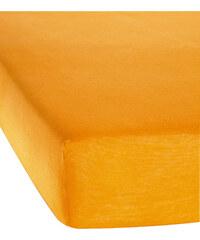 bpc living Drap-housse Jersey Microfibre jaune maison - bonprix