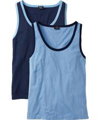bpc bonprix collection Débardeurs (lot de 2) bleu sans manches homme - bonprix