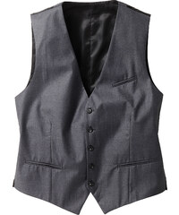 bpc selection Gilet de costume Regular Fit gris sans manches homme - bonprix