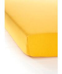 bpc living Drap-housse Jersey First Class jaune maison - bonprix