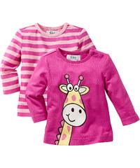 bpc bonprix collection T-shirts manches longues fuchsia enfant - bonprix