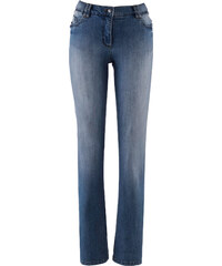 bpc bonprix collection Jean extensible droit bleu femme - bonprix