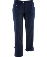 bpc bonprix collection Pantalon extensible cargo 3/4 bleu femme - bonprix
