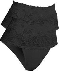 bpc bonprix collection Nice Size Slips de maintien (lot de 2) noir lingerie - bonprix