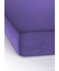 bpc living Drap-housse Jersey Microfibre violet maison - bonprix