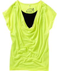 bpc bonprix collection T-shirt jaune manches courtes enfant - bonprix