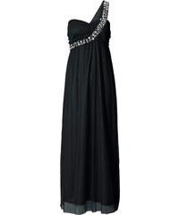 BODYFLIRT Robe longue asymétrique noir sans manches femme - bonprix