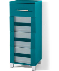 bpc living Armoire 4 tiroirs Ted, avec 4 tiroirs bleu maison - bonprix