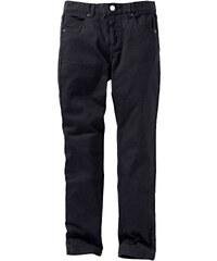 John Baner JEANSWEAR Pantalon en twill slim fit, normal noir enfant - bonprix