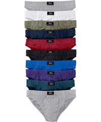 bpc bonprix collection Slips (lot de 10) gris lingerie - bonprix