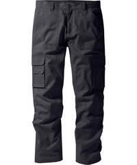 bpc selection Pantalon cargo Regular Fit Straight, N. gris homme - bonprix