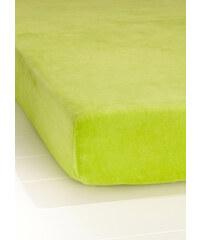 bpc living Drap-housse Velours vert maison - bonprix