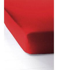 bpc living Drap-housse Jersey rouge maison - bonprix