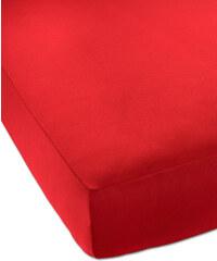 bpc living Drap-housse Jersey Microfibre rouge maison - bonprix