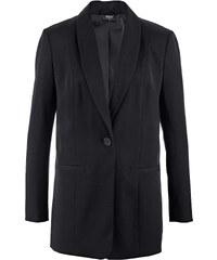 bpc bonprix collection Blazer long noir manches longues femme - bonprix