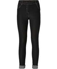 RAINBOW Legging aspect jean noir femme - bonprix