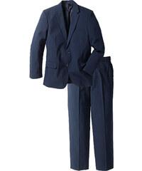 bpc selection Costume (2 pces.) Regular Fit, N. bleu manches longues homme - bonprix