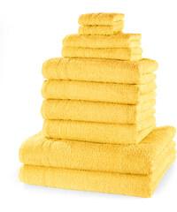 bpc living Serviettes de toilette New Uni (Ens. 10 pces.) jaune maison - bonprix
