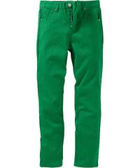 John Baner JEANSWEAR Pantalon en twill slim fit, normal vert enfant - bonprix