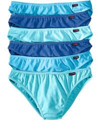 bpc bonprix collection Slips (lot de 6) bleu lingerie - bonprix