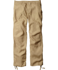 bpc bonprix collection Pantalon en lin beige homme - bonprix