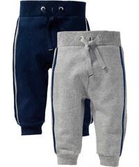 bpc bonprix collection Lot de 2 pantalons sweat bébé gris enfant - bonprix