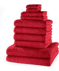 bpc living Serviettes de toilette New Uni (Ens. 10 pces.) rouge maison - bonprix