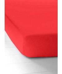 bpc living Drap-housse Jersey First Class rouge maison - bonprix