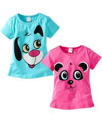bpc bonprix collection T-shirts (lot de 2) multicolore manches courtes enfant - bonprix