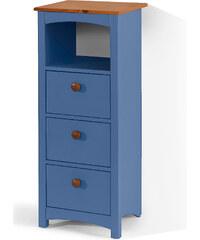 bpc living Meuble 3 tiroirs Paula, sur pied bleu maison - bonprix