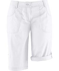 bpc bonprix collection Bermuda basique extensible blanc femme - bonprix
