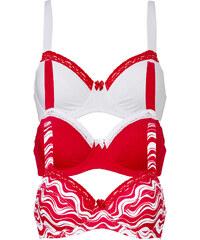 bpc bonprix collection Lot de 3 soutiens-gorge, Bon. B blanc lingerie - bonprix