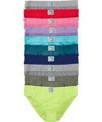 bpc bonprix collection Slips (lot de 10) vert lingerie - bonprix