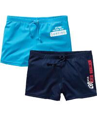 bpc bonprix collection Lot de 2 shorts de bain bleu enfant - bonprix