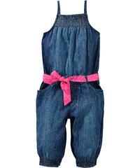 bpc bonprix collection Combinaison en jean + ceinture (Ens. 2 pces.) bleu sans manches enfant - bonprix