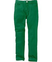 John Baner JEANSWEAR Pantalon en twill slim fit, XXL vert enfant - bonprix