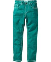 John Baner JEANSWEAR Pantalon slim fit avec effets froissés, XXL vert enfant - bonprix