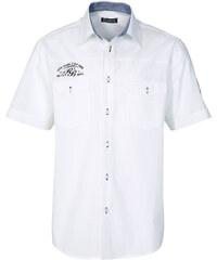 RAINBOW Chemise manches courtes blanc homme - bonprix