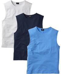 bpc bonprix collection T-shirts sans manches (lot de 3) bleu homme - bonprix